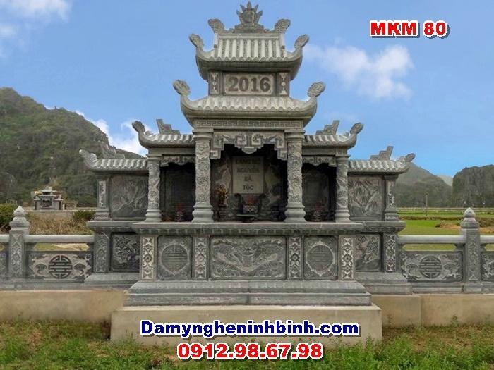 Lăng mộ đá đẹp MKM 80