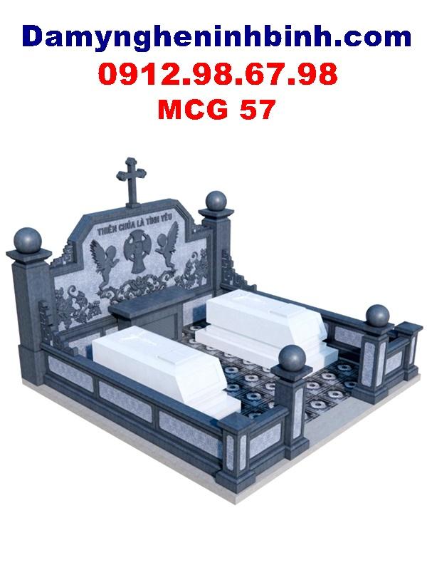 lăng mộ đá đôi công giáo