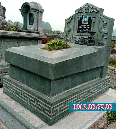 lăng mộ đá xanh đen