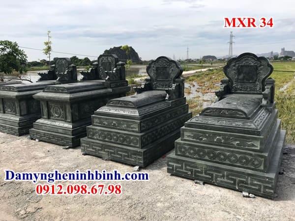 mộ đá xanh rêu | Đá Mỹ Nghệ Ninh Bình