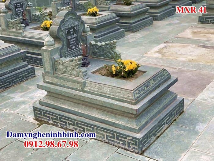 Lăng mộ đá xanh rêu MXR 41