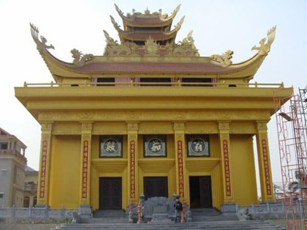 Lăng mộ đẹp của gia tộc họ Trần – Thái Bình lăng mộ đẹp nhất thái bình