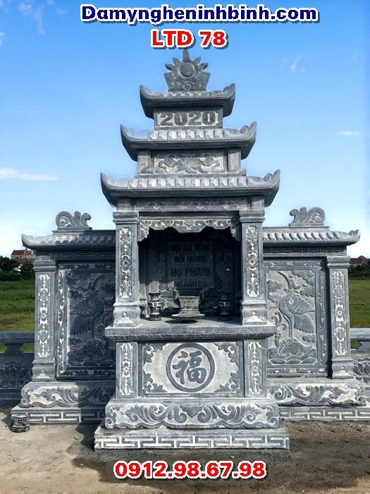 Lăng thờ đá khu lăng mộ