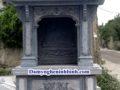 Lăng thờ đá mái chùa NB 27