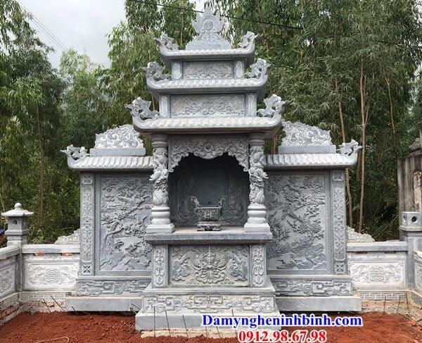 Lăng thờ đá thanh hóa đẹp