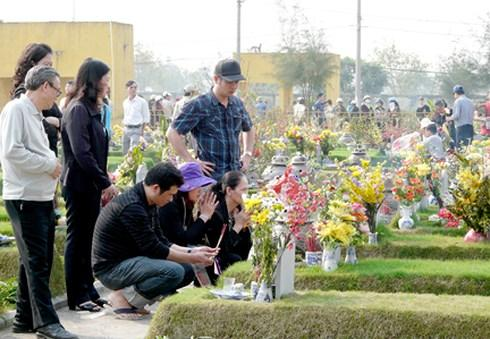 lễ tạ mộ cuối năm