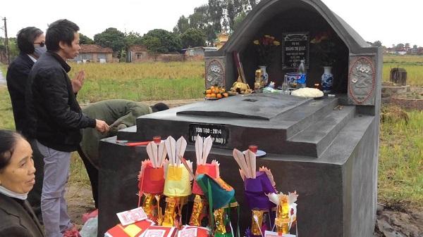 lễ tạ mộ khánh thành