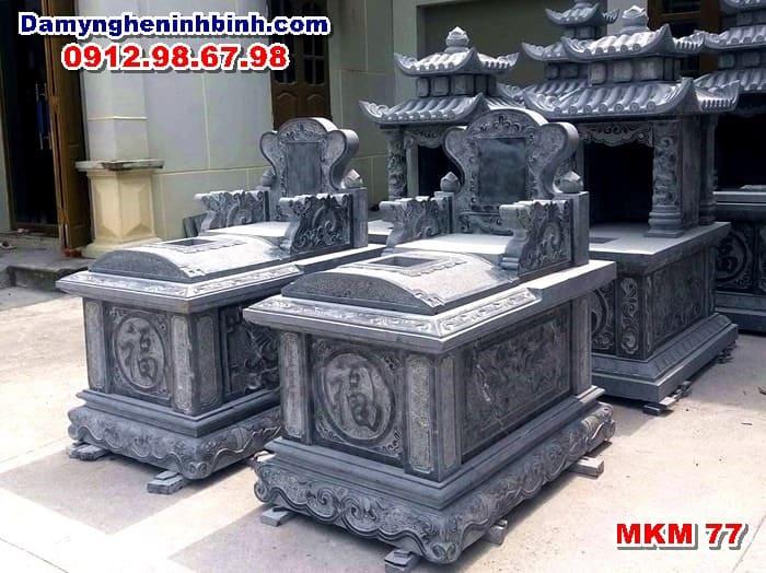 mẫu mộ bành đá thanh hóa