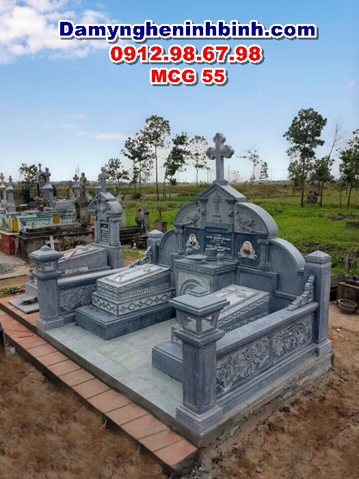 Mộ công giáo thiên chúa đẹp MCG 55