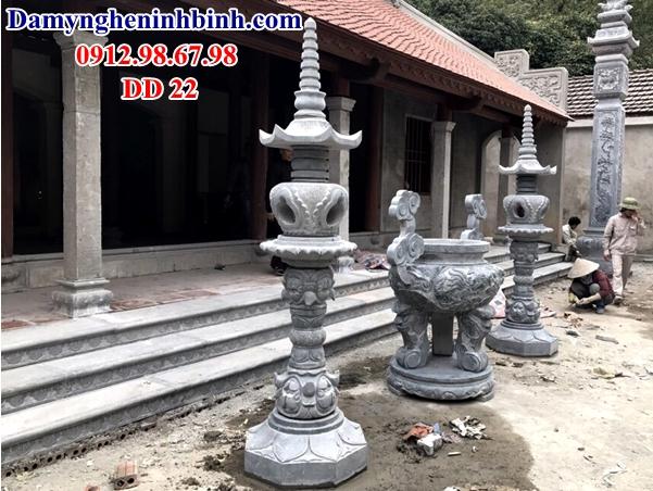 Mẫu cột đèn nhà thờ họ 22