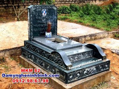 mẫu mộ tam cấp Đá Mỹ Nghệ Ninh Bình