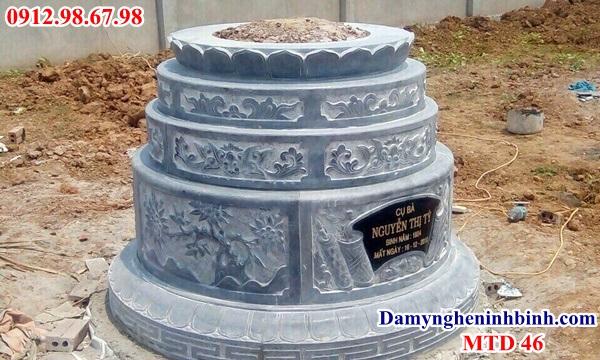 Mẫu mộ tròn 46