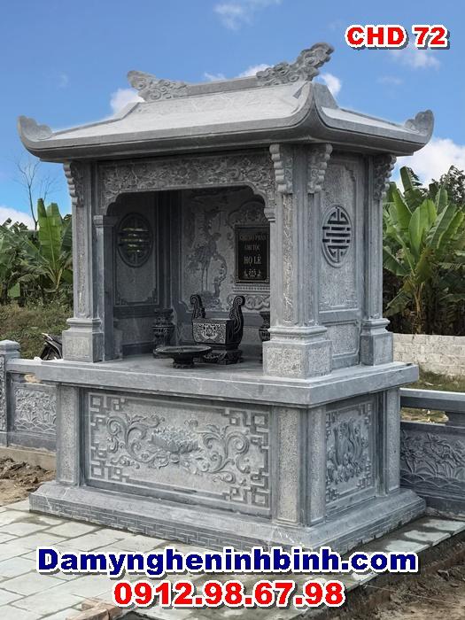 miếu thờ cây hương đá ngoài trời chd 72