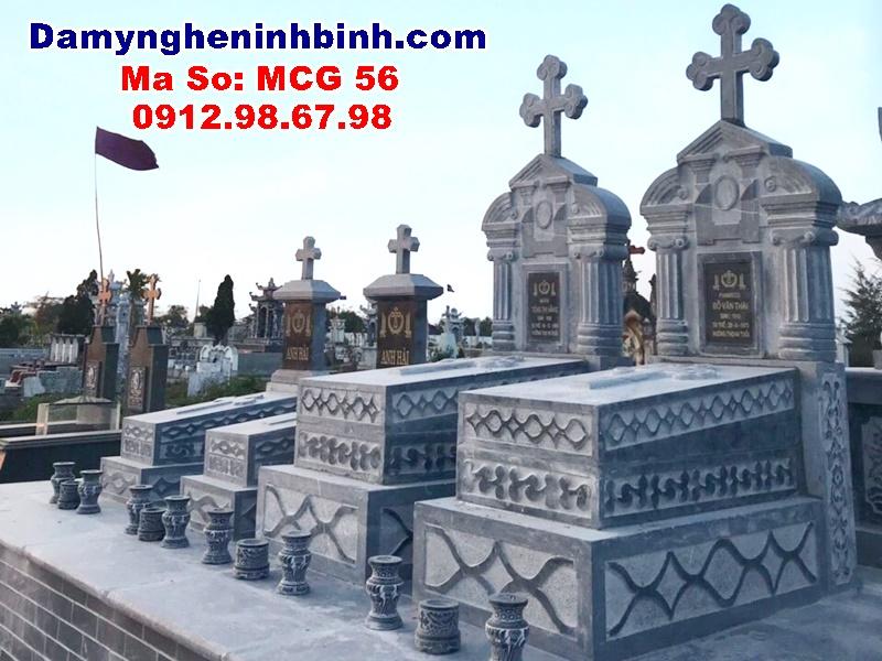 mộ đá công giáo nam trực nam định