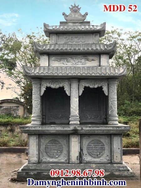 mộ đá đôi xanh rêu thanh hóa