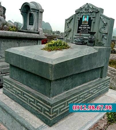 mộ đá nguyên khối thanh hóa