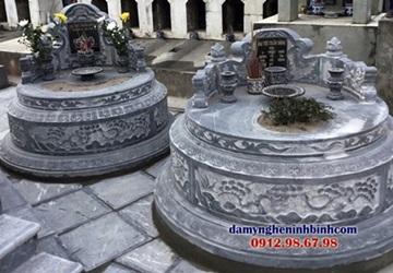 mộ đá tròn phong thủy