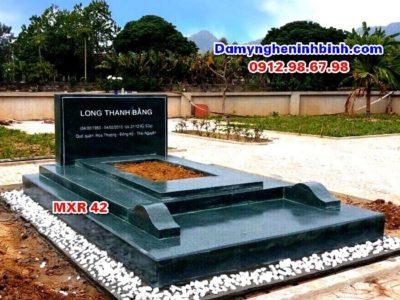 mộ đá xanh rêu có tính thẩm mỹ cao
