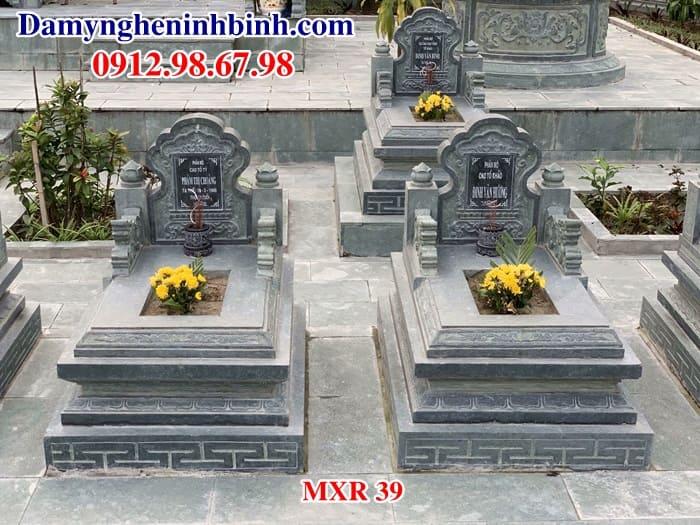 Mộ đá xanh rêu MXR 40