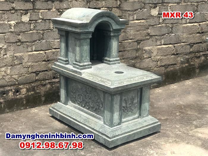 Mộ đá xanh rêu MXR 43