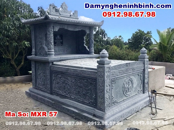 mộ đá xanh rêu Tiền Giang