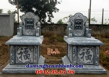 mộ tam sơn đá xanh