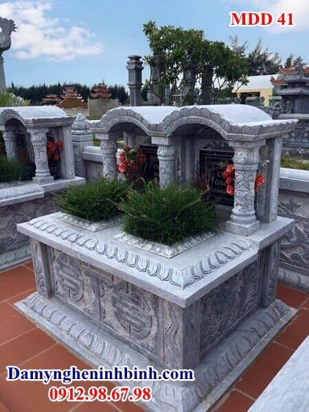 mộ đôi bằng đá xanh thanh hóa
