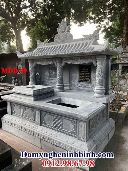 mộ đôi xanh nguyên khối thanh hóa
