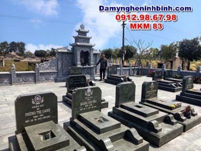 mộ tam cấp xanh đen thanh hóa