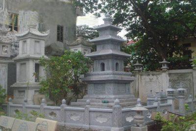 mộ tháp đá đẹp thanh hóa