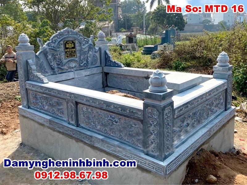 mộ tổ đá dòng họ đẹp