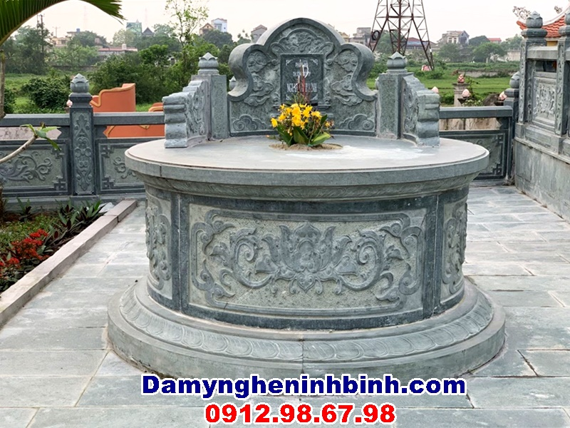 mộ tròn đá cha mẹ