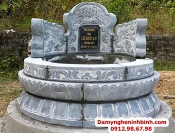 Mộ tròn đá xanh Thanh Hóa Ninh Bình