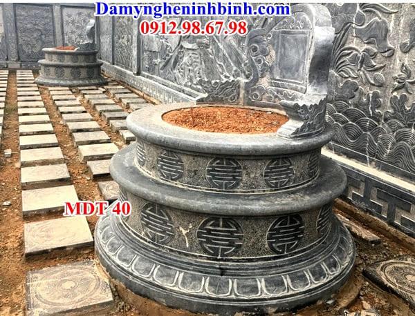 mộ tròn hai tầng thanh hóa