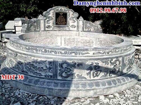mộ tròn kích thước lớn thanh hóa