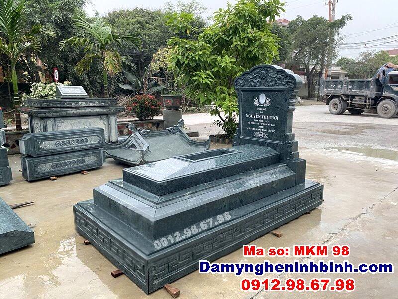 Những kiểu lăng mộ đá đẹp nhất Việt Nam
