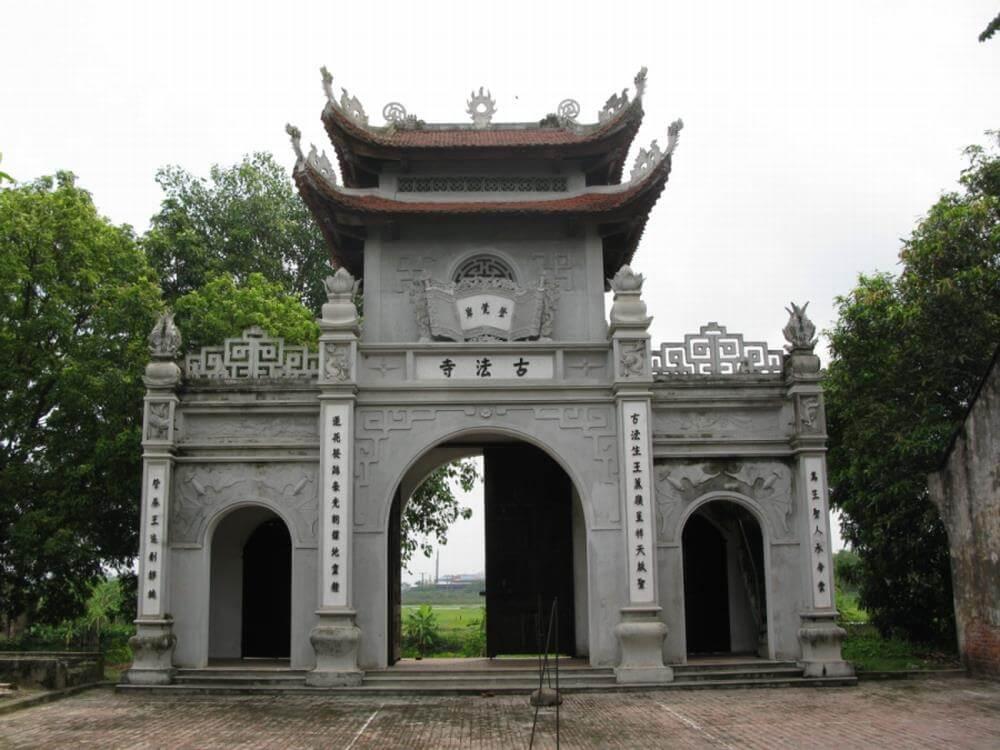thiết kế cổng tam quan